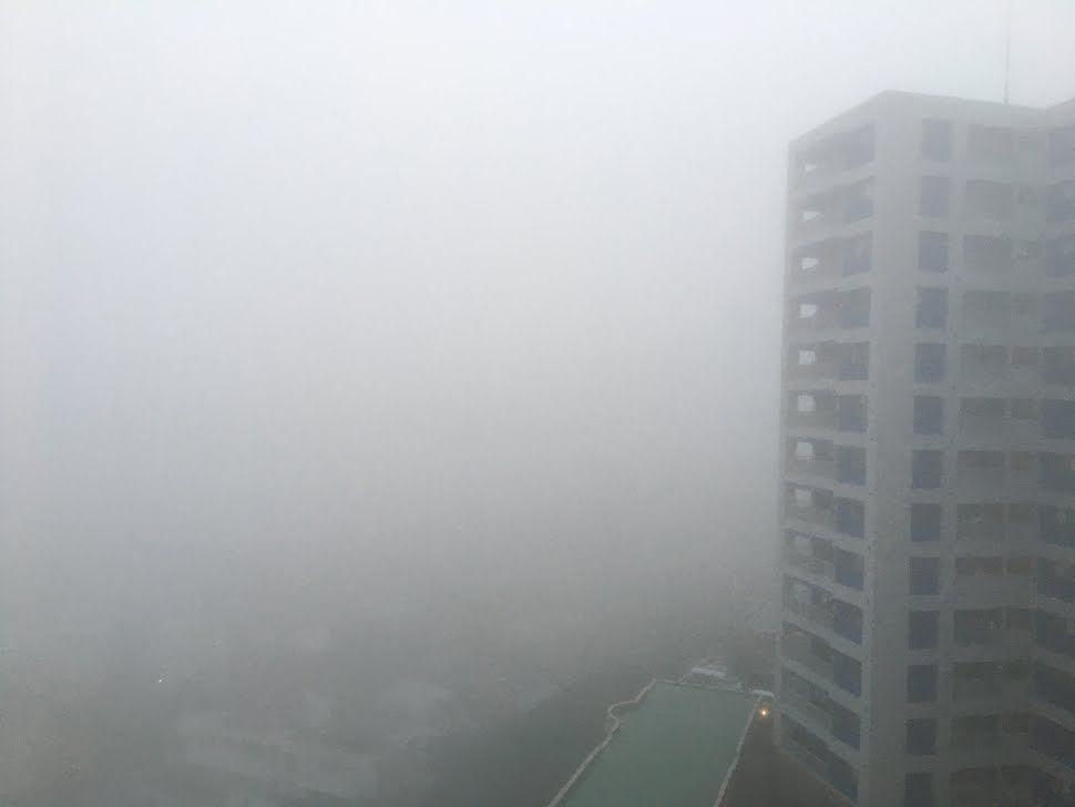 沖縄本島・大東島・宮古島地方に濃霧注意報 視程100メートル以下