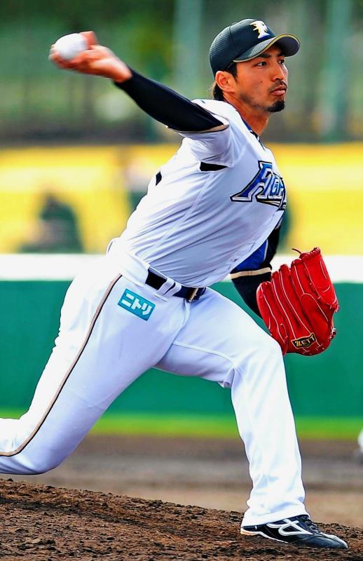 日本ハム屋宜、横手投げに懸ける! 目指すは「中継ぎ50試合登板」
