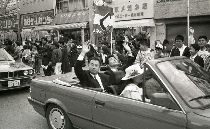 広島カープの凱旋パレード、キャンプ地・沖縄市でも 2月25日開催