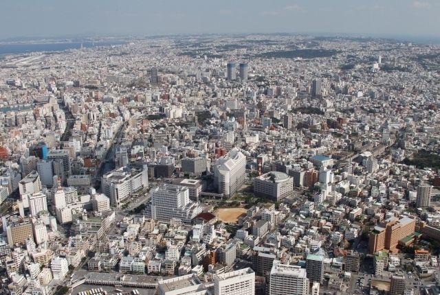沖縄県内の地価、4年連続上昇 上昇幅は東京に次ぎ2位に