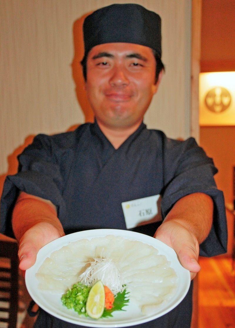 沖縄で珍しいフグ料理専門店オープン