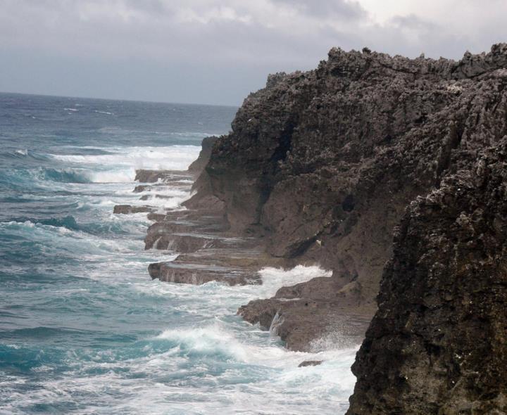 資料写真)北大東島の海岸