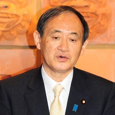 「選挙は結果が全て」 名護市長選受け菅官房長官