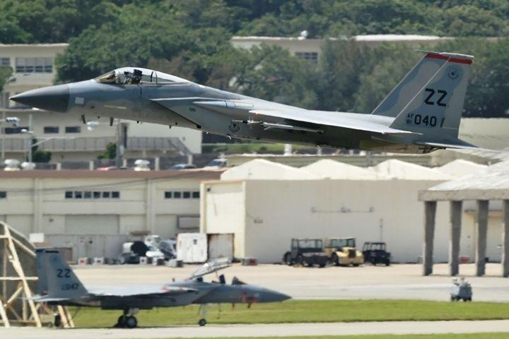 【速報】8機のF22が早朝飛行 米軍嘉手納基地 住民苦情を無視