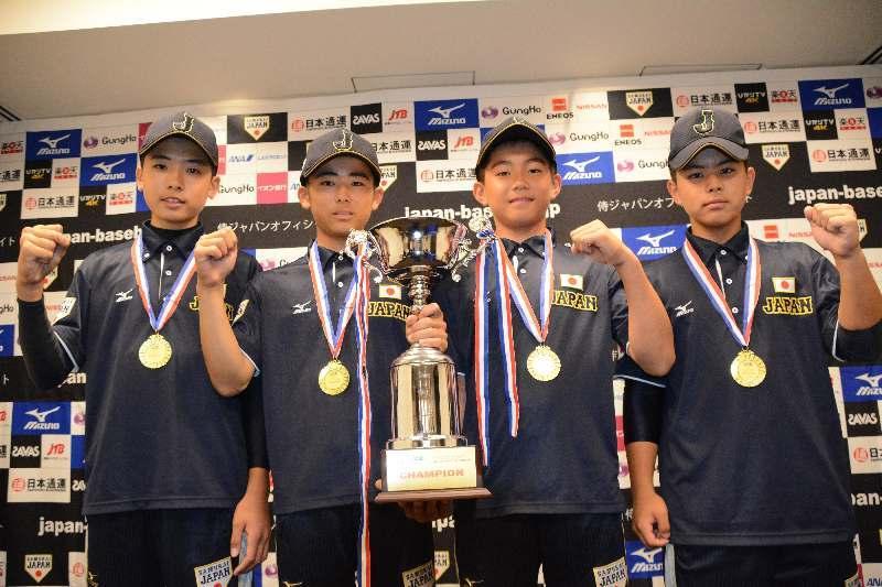 県勢4人活躍  アジア初Vの野球U-12代表帰国