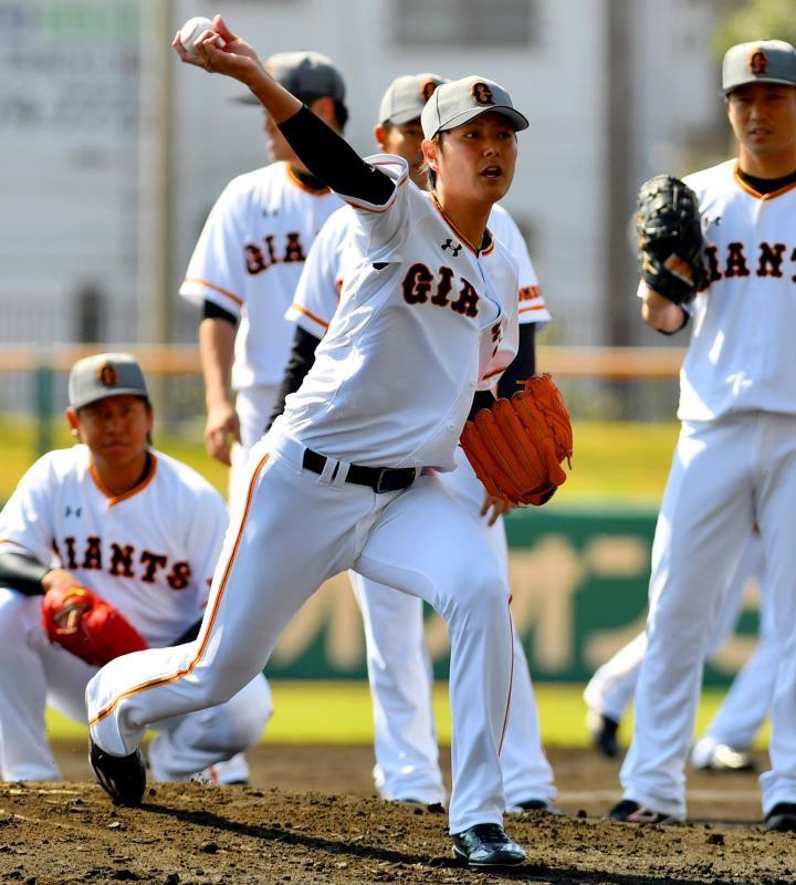 「沖縄でアピール」 巨人の右腕・宮國椋丞、3年ぶりの先発へ準備着々