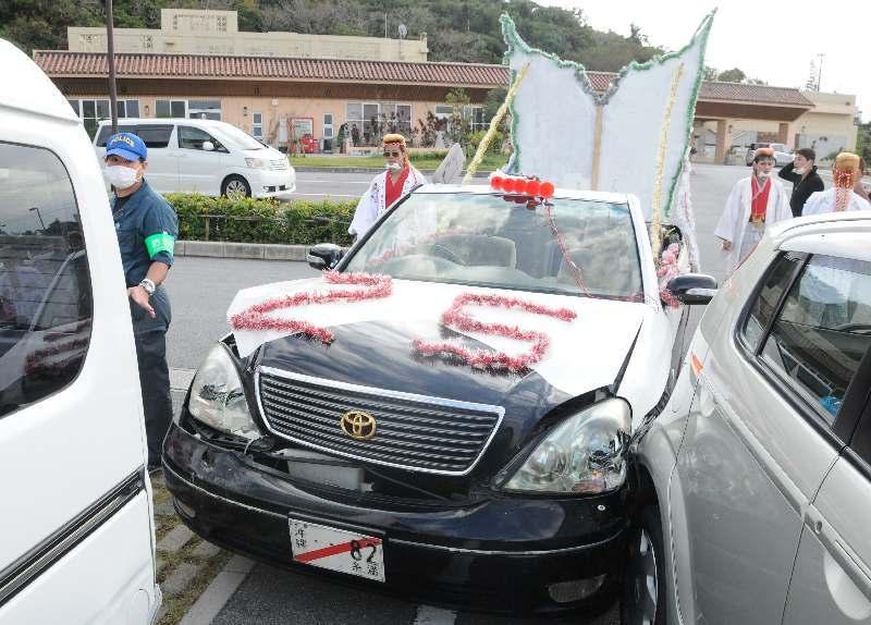 新成人か? 改造車両で衝突、逃走 沖縄・南風原 被害女性「逃げずに謝罪を」