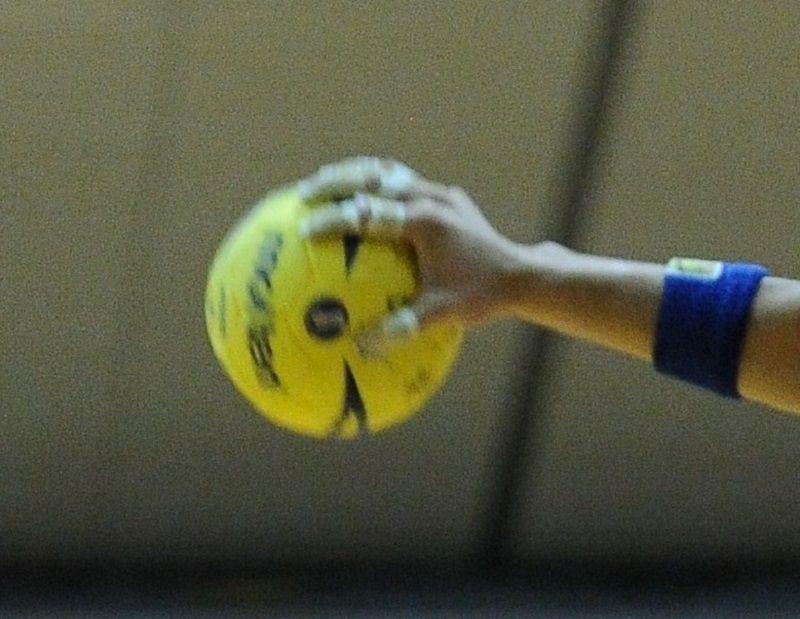 JOC中学ハンド:浦添市選抜男子3位 福岡に1点差で惜敗