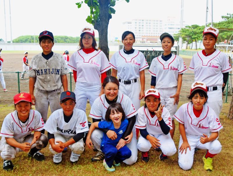 見せた女子野球の力 「美ら沖縄」男子相手に初勝利