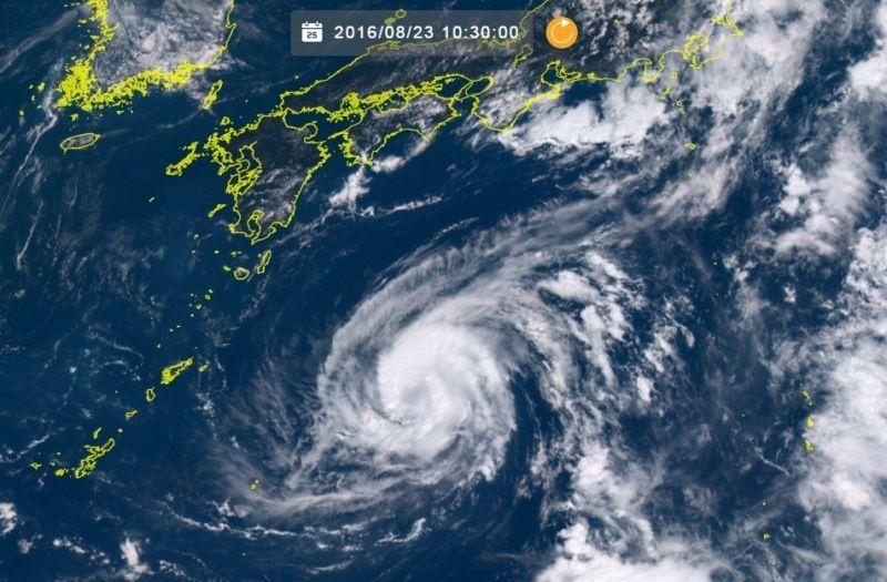 <台風10号>最大瞬間50メートルも