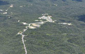 (資料写真)北部訓練場
