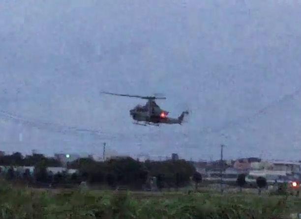【動画あり】読谷の米軍不時着ヘリ、離陸 7分後に普天間着陸