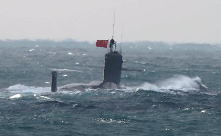 護衛艦「おお?中国潜水艦や(パシャ)」 これ国辱だろ  [158879285]->画像>13枚