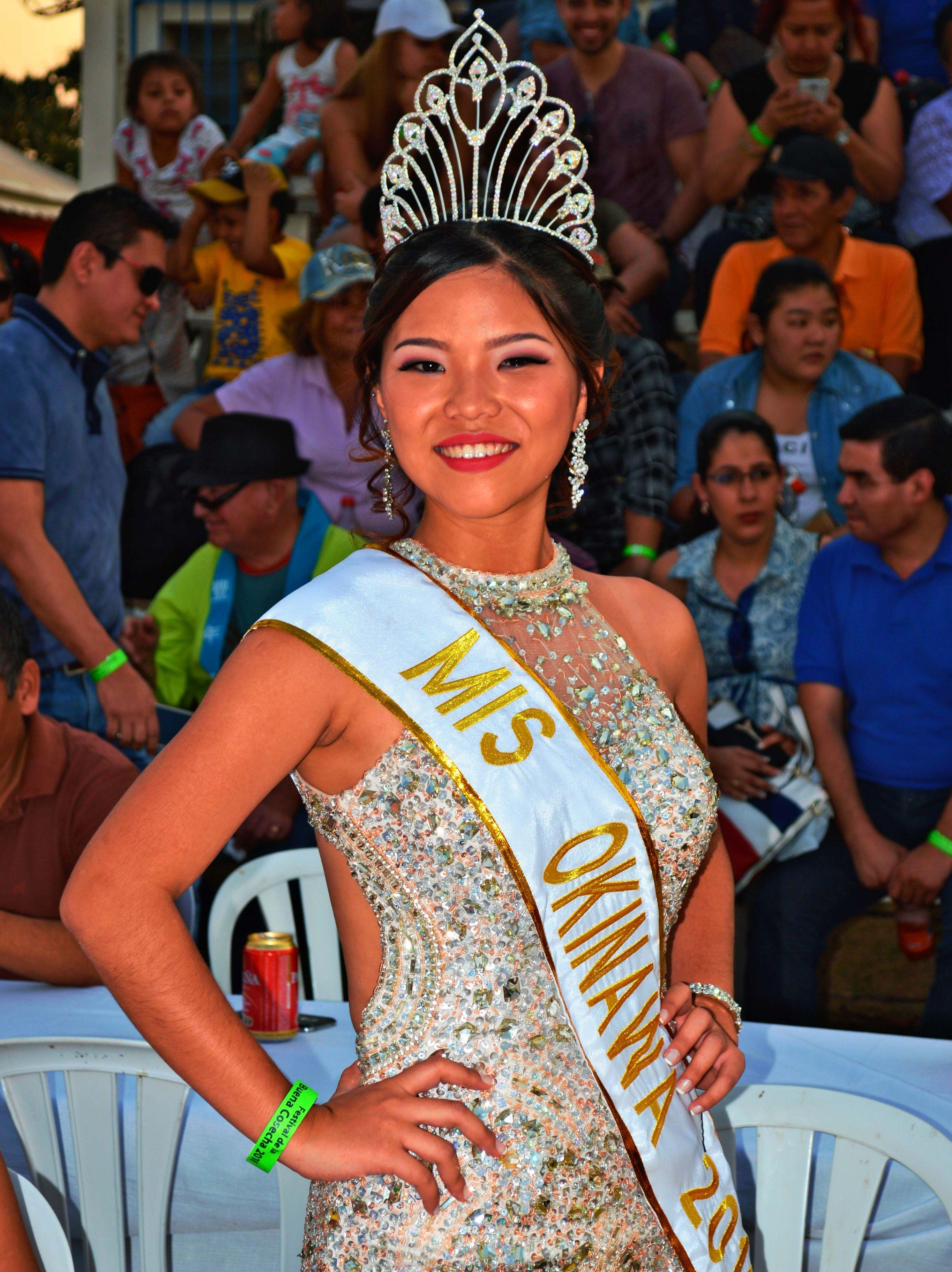 ボリビアの「ミス・オキナワ」決まる 会計士目指す大学3年生